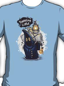 Traveling Light Cartoon Character T-Shirt