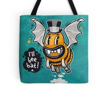 Cartoon Monster I'll Bee Bat Tote Bag
