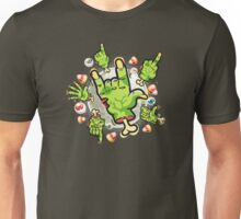 Cartoon Zombie Hands Unisex T-Shirt