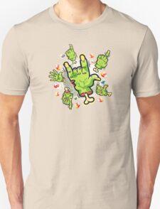 Cartoon Zombie Hands T-Shirt