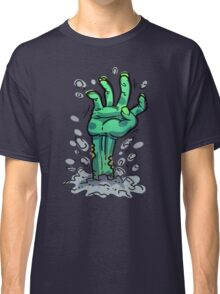 Cartoon Zombie Hand Classic T-Shirt