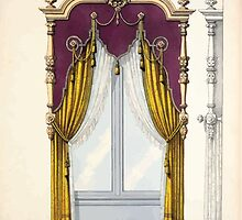 Le Garde Meuble Desire Guilmard 1839 0329 High Style Bed and Window Hanging Interior Design by wetdryvac