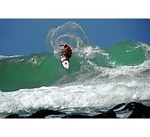 SURFER PITCH Photographic Print