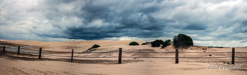 Anna Bay Sand dunes by Adara Rosalie