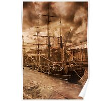 Tall Ship. Poster