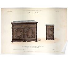 Le Garde Meuble Desire Guilmard 1839 0197 High Style Case Furniture Interior Design Poster