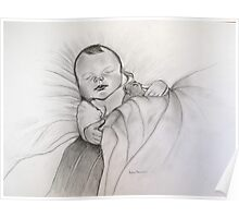 Baby Noah  sleeping   Poster