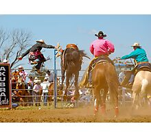 Rodeo Rider 6 Photographic Print