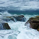 The gutter at the end of North Narrabeen Pool by Doug Cliff