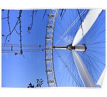 Legs, Twigs and Spokes - London Eye Poster
