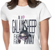 In a Galaxsheep... Womens Fitted T-Shirt