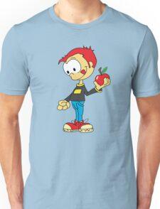 boy with apple Unisex T-Shirt