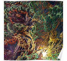 Volcano Squared (fractal) Poster