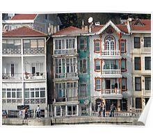 Istanbul Facades Poster