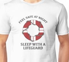 Sleep With A Lifeguard Unisex T-Shirt