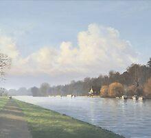 Caversham Promenade by Richard Picton