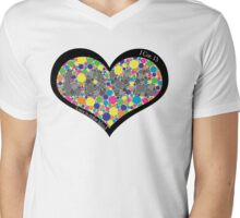 Love is Colorblind Mens V-Neck T-Shirt