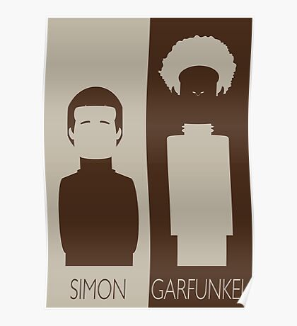 Simon and Garfunkel Poster