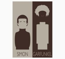 Simon and Garfunkel One Piece - Short Sleeve