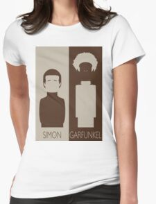 Simon and Garfunkel Womens Fitted T-Shirt