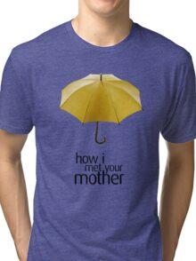 Yellow Umbrella. How I Met Your Mother. Tri-blend T-Shirt