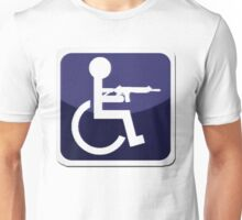 Handicap Icon Unisex T-Shirt