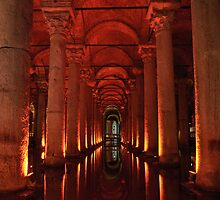 Basilica Cistern, Instanbul by Christopher Cullen