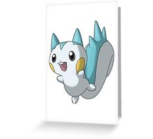 Pachirisu pokémon Greeting Card