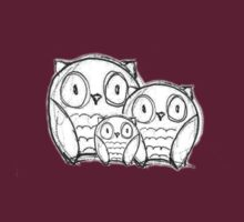 3 Owls by maiboo