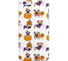 Halloween Pugs iPhone Case/Skin