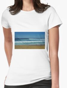 Bells Beach, Great Ocean Road Womens Fitted T-Shirt
