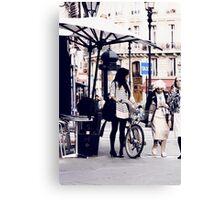 Rue de l'Echelle Canvas Print