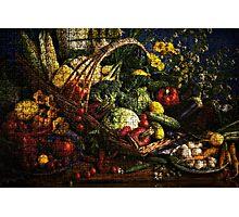 Fruits & Veggies Photographic Print