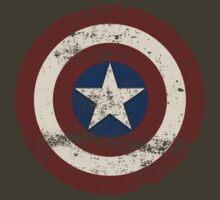 Captain America Shield by FuzzyJuzzy
