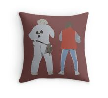 Back (s) to the Future  Throw Pillow