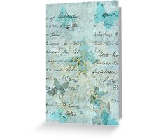 Romantic Vintage Butterflies Greeting Card