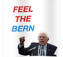 FEEL THE BERN  ($ goes to Bernie's campaign fund) Poster