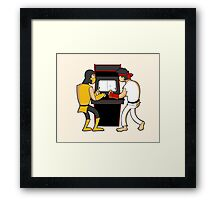 Showdown! Framed Print