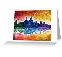 City Colours Greeting Card