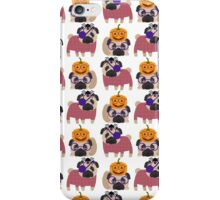 Pirate Pug and Pumpkin Pug iPhone Case/Skin