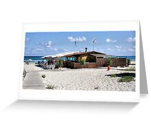 Bar on the Beach (Wish I was Here) Greeting Card
