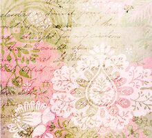 Romantic Vintage Damask by Circe Lucas
