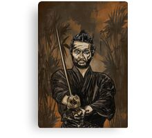 Samurai warrior. Canvas Print