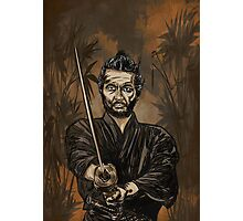 Samurai warrior. Photographic Print
