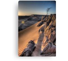 Sahara Sunrise, Morocco Canvas Print