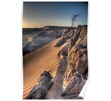 Sahara Sunrise, Morocco Poster