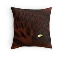 The Enlighted Cave Throw Pillow
