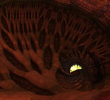 The Enlighted Cave by DigitalIsis