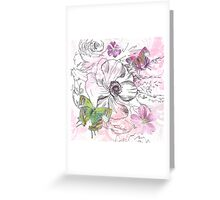 Nature Study Greeting Card
