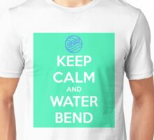Keep Calm and Water Bend Unisex T-Shirt